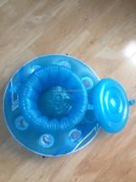Inflatable float drink holder,promotion hot sale inflatable bottle holder