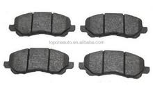 Japanese car brake pad GDB3287, D866, A650K for Mitsubishi brake pad for Dodge brake pad
