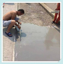 Anchor bolt anchoring super liquidity cement grout