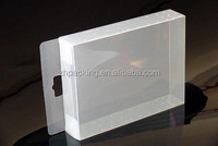 custom frosted small clear PET/PP/PVC box