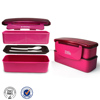 easy lock factory plastic food box double layer lunch box best products for students