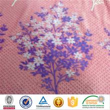 2015 new product 100%polyester burnout print cotton feeling velvet suits designs blanket flannel fleece fabric