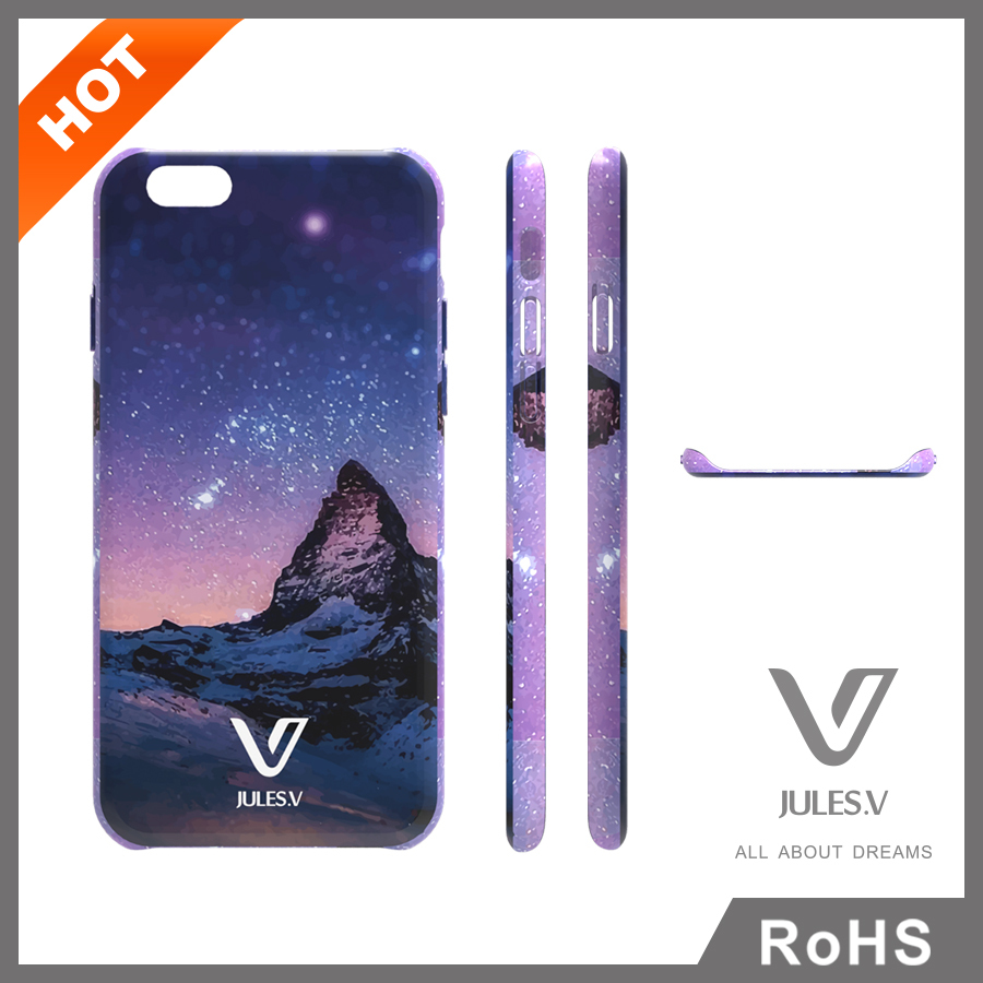 2016 Fashion PC Phone Case,Color Drawing Printing Mobile Case for iphone 6s plus Case