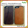 promotion! Black walnut wood case for iPhone 6,Wholesale black walnut wood case for iphone 5 5s natural wood accessories