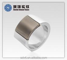 Newly Design Mens Titanium Rings ;Mens Decoration Ring