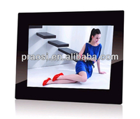 cheap digital picture frame 9.7 inch with SD card slot, USB port, earpiece jack