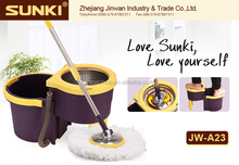 2015 flat floor dust mop with magic amazing goods items hot selling spin mop JW-A23