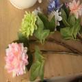 O mais novo similation flor dália, o casamento e casa acessório