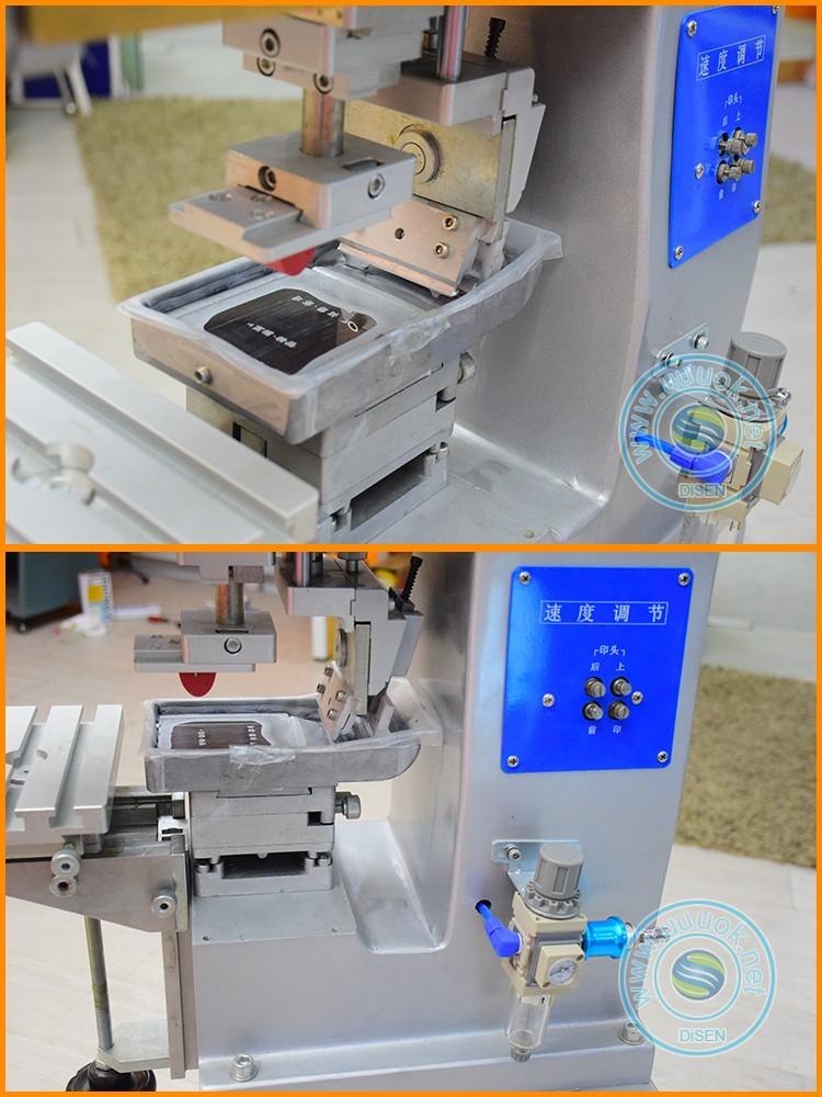 Pneumatic digital electric 1 color pen and pencil easy press a print pad printer machine