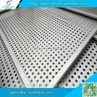 Customzied Shape Round/Square hole perforated stainless steel sheet