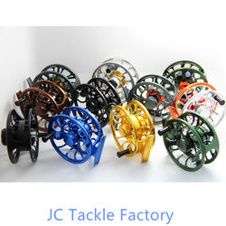2014 New multi carbon drag fly reel/Large arbor/different anodized colors for your choice