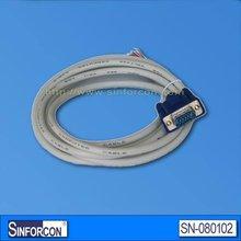 D-sub 15P VGA cable, DB15 male OEM VGA cable, 3+5/3+6/3+7 optional