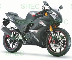 Motorcycle 125cc sports racing motorcycle
