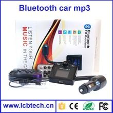 2015 New arrival Bluetooth car FM Transmitter with Low price and Car cigarette lighter power supply