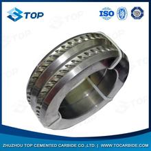 Good quality great hardness tungsten carbide roll rings for rolling reinforcing bar for steel works
