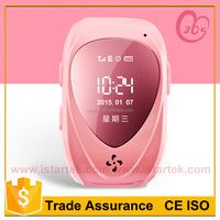 low cost portable mobile phone watch tracking device with inbuit battery and senstive gps chip