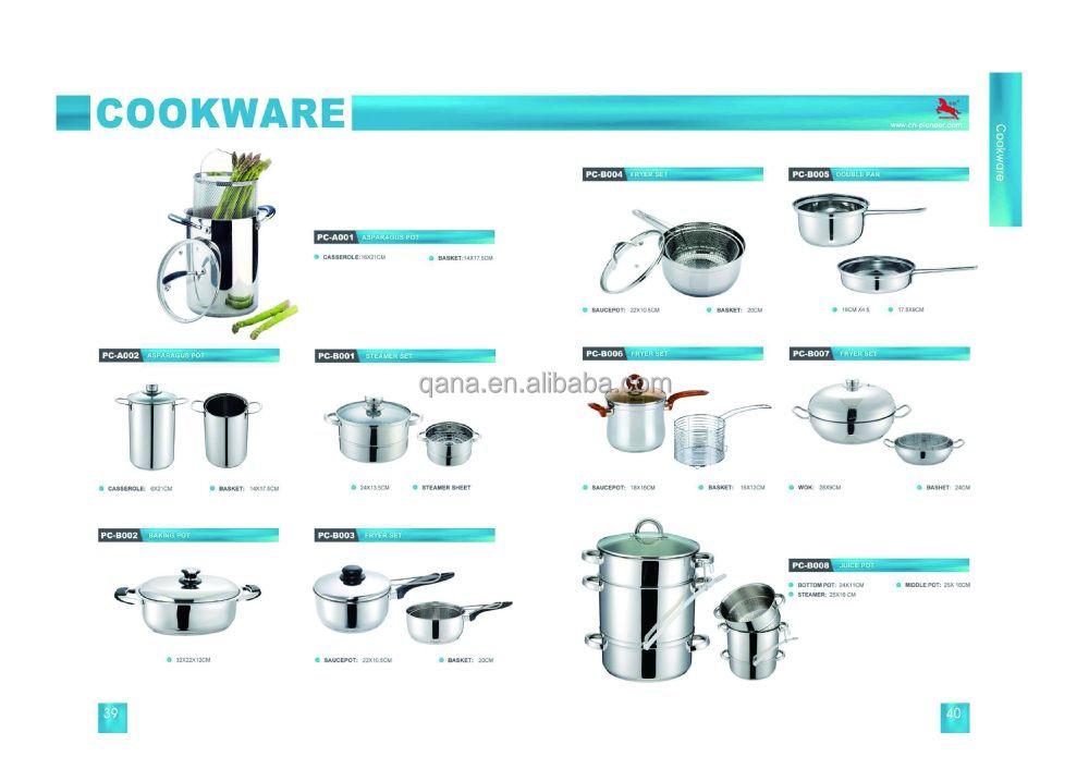 ligne suisse en acier inoxydable 18 pcs batterie de cuisine induction hot pots ensemble. Black Bedroom Furniture Sets. Home Design Ideas