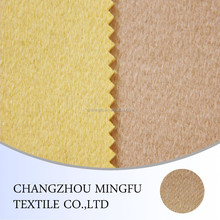twill type khakee / yellow wool fabric, 10s yarn dyed wool blend polyester fabric, woolen fabric