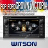 WITSON FOR FORD CROWN VICTORIA 2008-2012 CAR RADIO DVD GPS WITH 1.6GHZ FREQUENCY DVR SUPPORT WIFI STEERING WHEEL