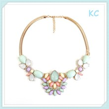 American Hot Selling Chunky Statement Necklace Fashion Jewelry in stock