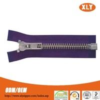 China zipper factory wholesale fancy metallic zipper insertion pin