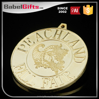 Customize design metal chocolate medals