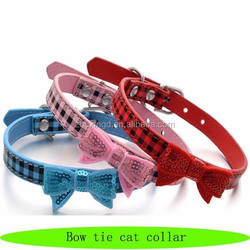 Cute pet products cat, fashion products for pet shop, bow tie cat collar