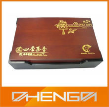 Hot!!! Customized Chinese Tea Set Classical Packaging Wooden Gift Box(ZDW13-T010)