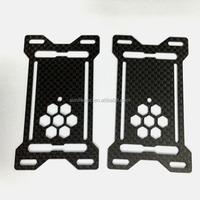plain twill satin carbon fiber fabric 3D Carbon Fiber Fabric 3K 200gsm Plain Carbon Fiber Fabric / Cloth