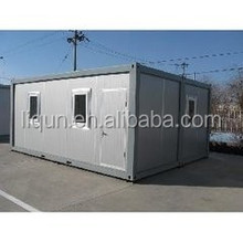 2015 Prefab flat packed design sandwich panel container house from Factory