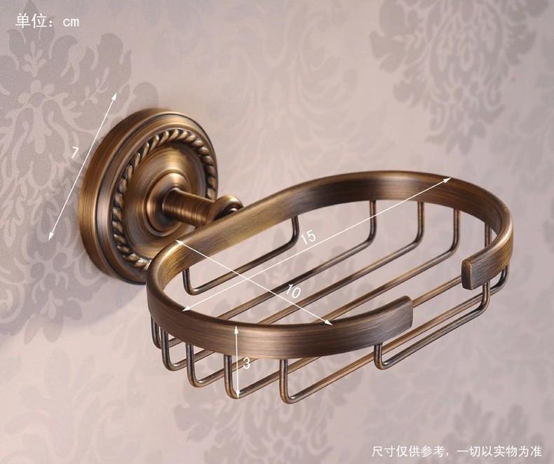 Купить Евро стиль горячая Античная Латунь Мыльница Медь Мыльницы Резные Пьедестал мыльница/мыло базы аксессуары для ванной комнаты HJ-1306F