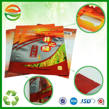 manufacturing die cut plastic rice 500g packing bag