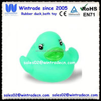 Squeeze baby duck floating toy