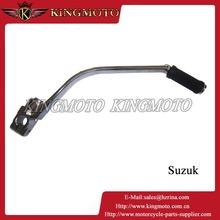 Hot sale good quality motorcycle kick start lever for SUZUKI / starter arm/ motorcycle kick KM008