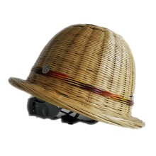 Safety helmet made from bamboo