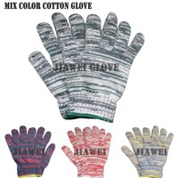Hand Gloves Cotton Hand Gloves Colored Gloves/Guantes De Algodon 055