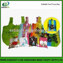 Flexible easy to carry reusable foldable shopping bag
