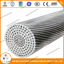 China manufacturer bare conductor BS 215 standard ACSR conductor aerial bundle cable for sale