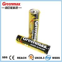 Am-3 Blister Card Pack 1.5v Lr6 Aa Dry Batteries