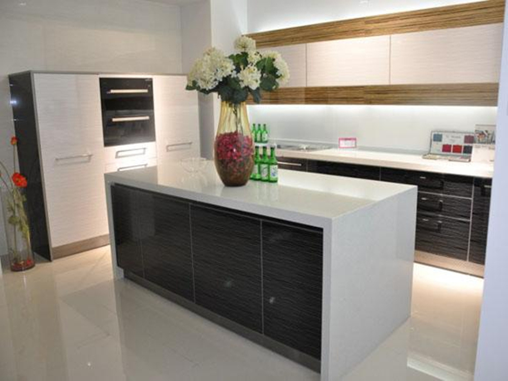 Modern design top quality lacquer mdf paint colors kitchen for Best lacquer for kitchen cabinets
