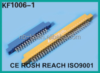 3.96mm 24pin 30pin 36pin 40pin 44pin 56pin 64pin 72pin blue clour gold plated solder type edge card connector