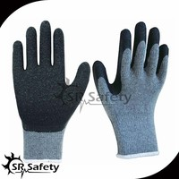 SRSAFETY cheap latex glove/work glove/labor glove wholesale