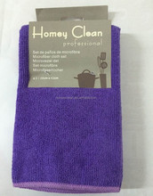3pieces/bag 38*42cm 280gsm flat knitted Terry microfiber cleaning cloth