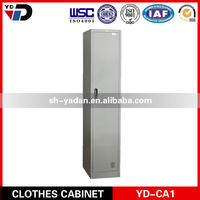 Factory direct sale steel locker with cloth hanger and shelf
