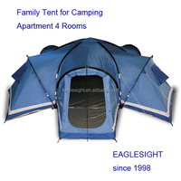 Customized 4 rooms family Tent