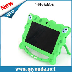 Hot selling! Wholesale kids tablet kids tablet case with handle