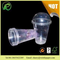 Take away disposable colour plastic cup