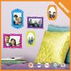 01-0241 Fantasy family tree photo frame removable eva foam wall sticker decor 3d wall stickers