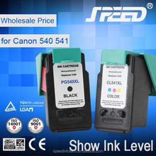 Chip Reset refilled ink cartridge pg540 with 10 Years Experience