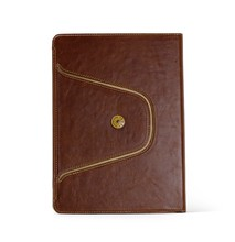 2015 support 360 degree rotating stand leather tablet case for ipad air